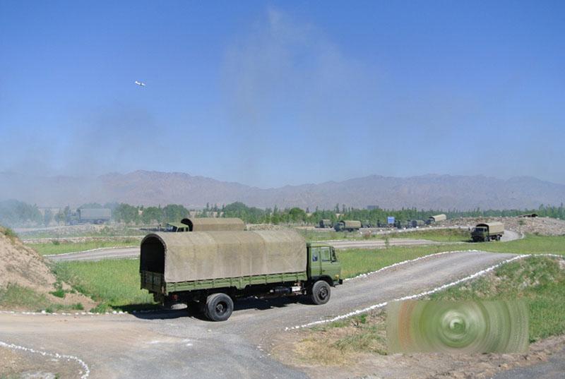 美侦测到中国导弹轨迹