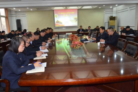 河北建工集团省四建公司总会计师郑西宾到四分公司宣讲